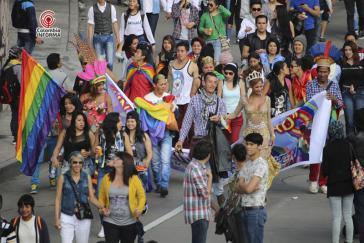 """Orgullo Gay"" in Bogotá"