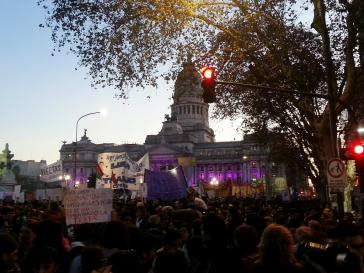 Mehr als 200.000 Menschen nahmen an der Kundgebung in Buenos Aires statt