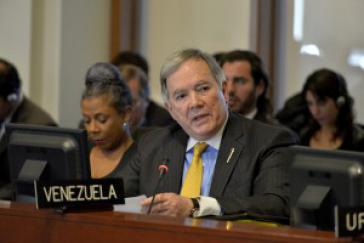 Venezuelas Botschafter bei der OAS, Roy Chaderton