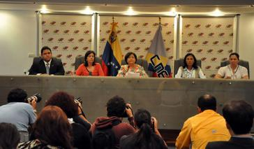 Der Vorstand des Nationalen Wahlrats (CNE)