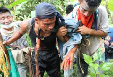 Beim Angriff der Esmad wurden 20 Menschen verletzt
