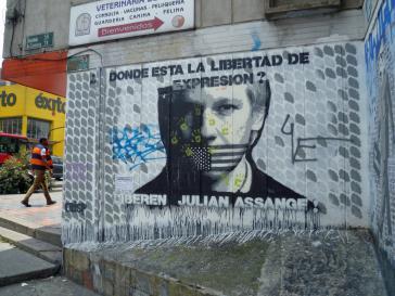 """""""Wo ist die Meinungsfreiheit geblieben"""" – Sternfahrt für Wikileaks-Mitbegründer Julian Assange"""