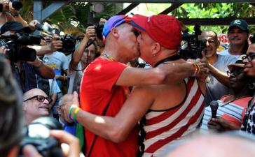 LGTB-Aktivisten in Havanna