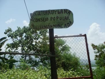 städtischer Gartenr in Santiago de Cuba