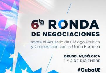 6. Gesprächsrunde zwischen Kuba und der EU