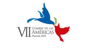 Logo des Amerikagipfels in Panama