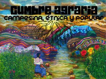 Plakat zur Cumbre agraria