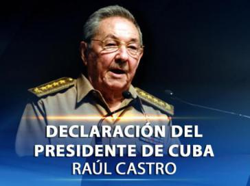 Präsident Castro bilanziert Verhandlungen mit den USA
