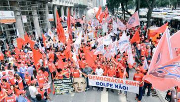 Demonstration in Rio de Janeiro