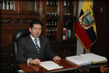 Prüft Berufung: Ecuadors Generalstaatsanwalt Diego García