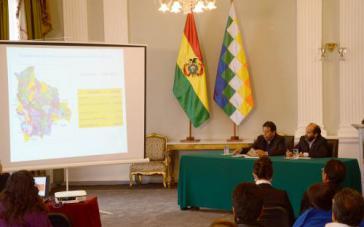 Vorstellung der Studie in La Paz