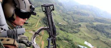 Gemeinden von La Gabarra und Puerto Asís prangerten Angriffe des Militärs mit Granatenwerfern an