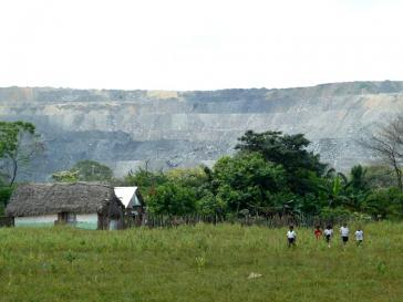 Die Bewohner von El Hatillo müssen dem Kohlebergbau weichen