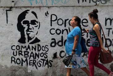 Graffito in San Salvador