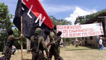 """Ein Lager der ELN in Kolumbien: """"Herzlich Willkommen in den Lager des Neuen Kolumbiens"""""""