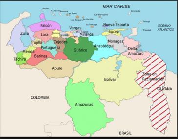 Zwischen Venezuela und Kolumbien verläuft eine über 2.000 Kilometer lange Grenze. In den Bundesstaaten Táchira und Zulia sind die Übergange geschlossen