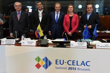 Abschlusspanel beim EU-Celac-Gipfel in Brüssel