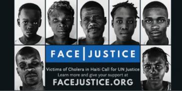 Portraits aus der Kampagne vor UN-Vertretungen