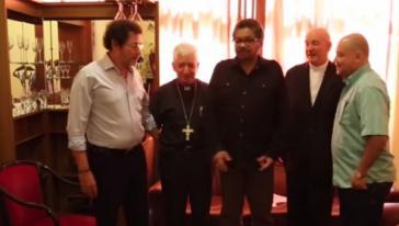 Farc-Delegierte und Kirchenvertreter aus Kolumbien trafen sich in Havanna