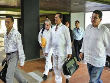 Neue Delegationsmitglieder der Farc für die Friedensgespräche in Havanna