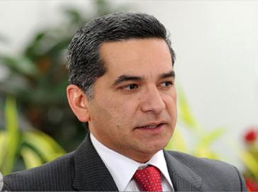 Ecuadors Kommunikationsminister Fernando Alvarado