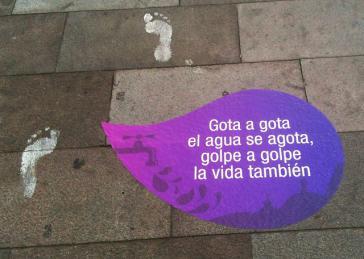 Kampagne gegen Gewalt gegen Frauen in Ecuador