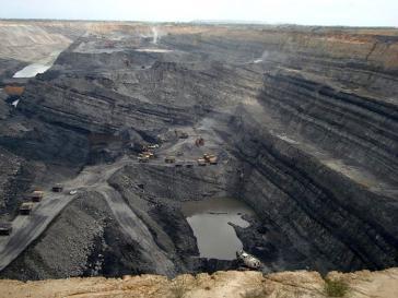Die Calenturitas-Mine nahe dem Dorf El Hatillo