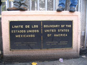 Grenze zwischen den USA und Mexiko