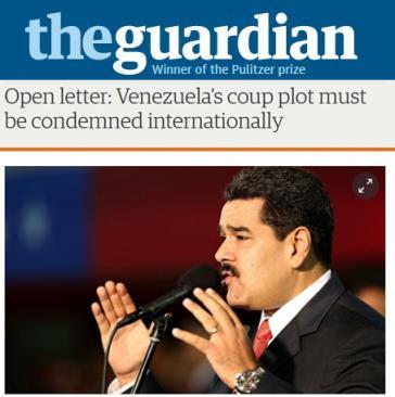 Der offene Brief erschien am 19. Februar im The Guardian