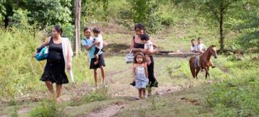 Migrantinnen aus Guatemala in Mexiko