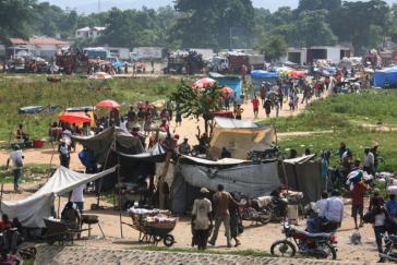 An der Grenze zwischen Haiti und der Dominikanischen Republik
