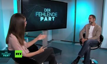 """Harald Neuber im Gespräch mit Jasmin Kosubek in der Sendung """"Der fehlende Part"""""""