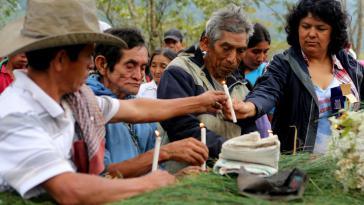 Trauer um ermordete Aktivisten in Honduras: Berta Cáceres und Mitstreiter