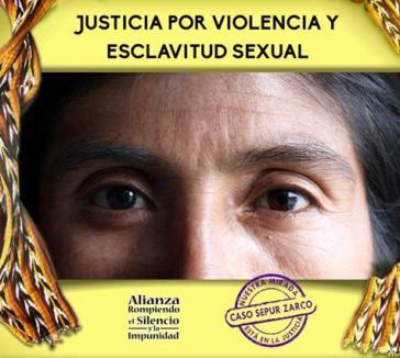 """Ecap-Kampagne: """"Gerechtigkeit für Gewalt und sexuelle Sklaverei"""""""