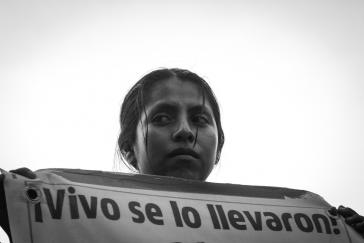 Protest in Mexiko-Stadt