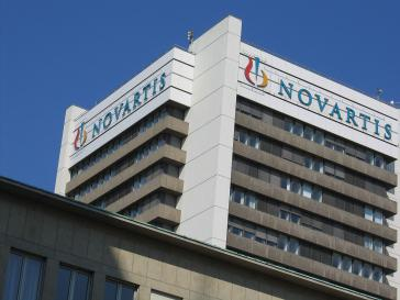 Firmensitz von Novartis in Basel
