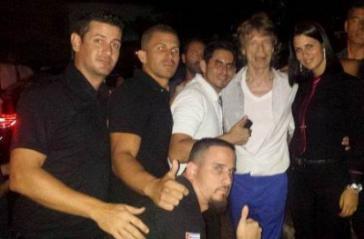Stones-Frontmann Jagger mit Fans in Havanna