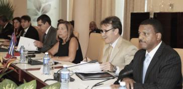 Die Delegierten aus Kuba