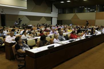 Vor dem Plenum kamen mehrere Tage lang Kommissionen der Nationalversammlung zusammen