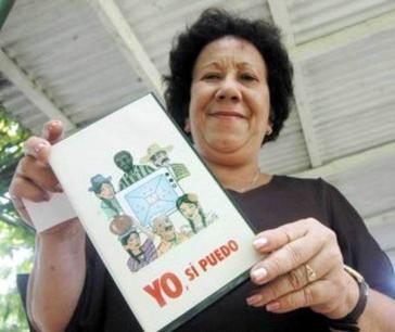 """Die Begründerin des kubanischen Alphabetisierungsprogramms """"Yo si puedo"""", Leonela Ines Relys"""
