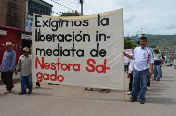 """""""Wir fordern die sofortige Freilassung von Nestora Salgado"""""""