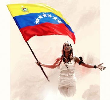 War an der Leitung des Treffens beteiligt: Lilian Tintori, Ehefrau des inhaftierten Oppositionellen Leopoldo López (Titelbild ihres Facebook-Accounts)