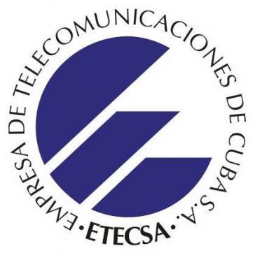 Logo des staatlichen kubanischen Telekommunikationsanbieters ETECSA