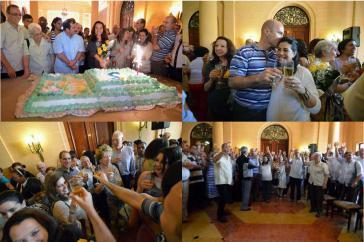 """Wieder in Freiheit: Die """"Cuban Five"""" feiern mit Angehörigen und Freunden Sylvester in Havanna"""