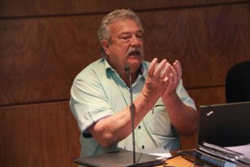 Zeuge gegen den Autokonzern: der frühere VW-Arbeiter Lucio Bellentani wurde auf dem Firmengelände festgenommen und  gefoltert