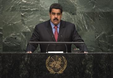 Sprach die Flüchtlingskrise an: Venezuelas Präsident Nicolás Maduro