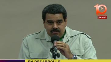Die Miami Filiale der Stonegate BankVenezuelas Präsident Nicolás Maduro