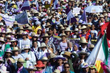 """""""Marsch der Margeriten"""" in Brasília"""