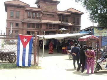 Kubanische Ärzte in Nepal
