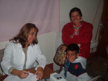 Eine Ärztin des kubanischen Teams in Guatemala
